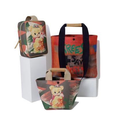 【新商品】クリーピーベア & ユニオンジャック レディース バッグのご紹介