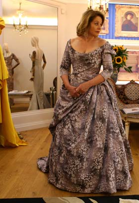 Renee Fleming wears Vivienne Westwood couture for the annual BBC PROMS 2017