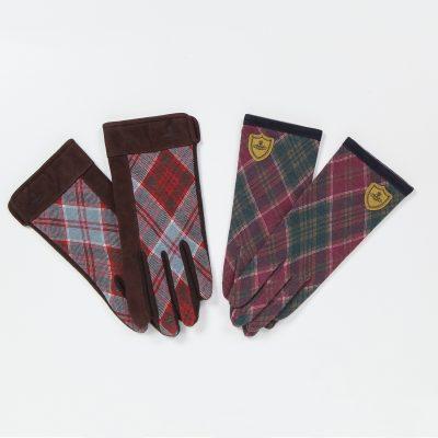 【新商品】メンズ・レディース レッドレーベルタータン 手袋のご紹介