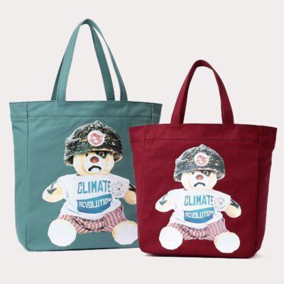 """CLIMATE REVOLUTION BEAR TOTE BAG"" On Sale"